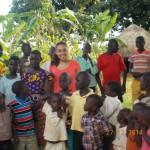Empfang von Emine im Dorf